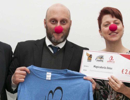 Palla ovale e nasi rossi, insieme a favore dell'inclusività nello sport